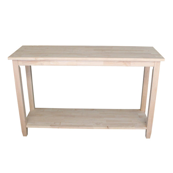 Solano Hardwood Sofa Table - 48""