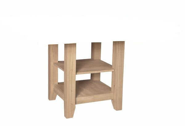 Canyon Hardwood Gathering Height Table Pedestal