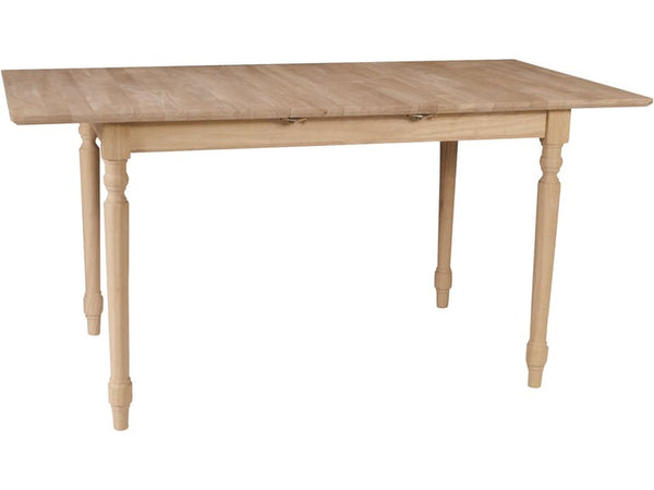 Hardwood Butterfly Leaf Table (Choose Height & Finish)