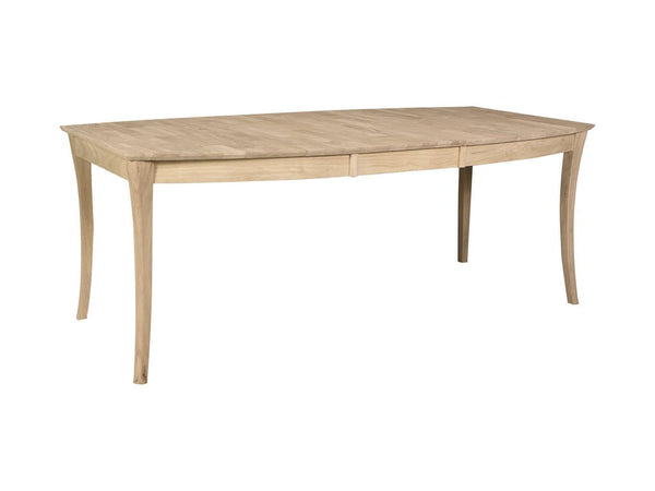 "Cosmopolitan Salerno Vineyard Boat Butterfly Extension Table - 42"" x 60"" (Finish Options)"