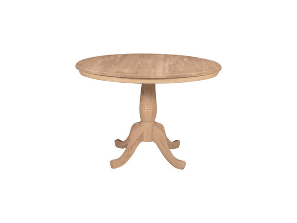 "Round Solid Hardwood Table (30"", 36"", or 42"")"