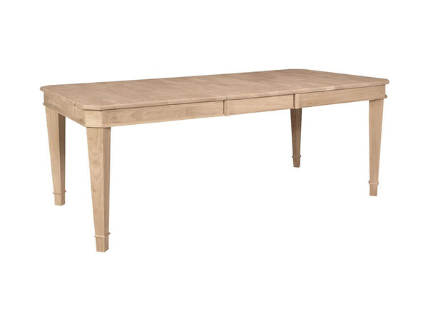 "Tuscany Butterfly Hardwood Table - 40"" x 60"" - UnfinishedFurnitureExpo"