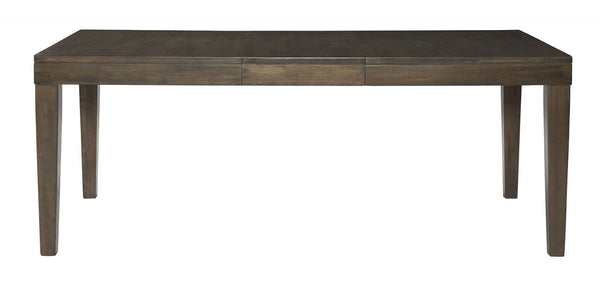 "LUXE Extension Table - 60"" (Pewter) - UnfinishedFurnitureExpo"