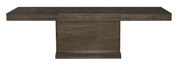LUXE Storage Base Extension Table - Pewter - UnfinishedFurnitureExpo