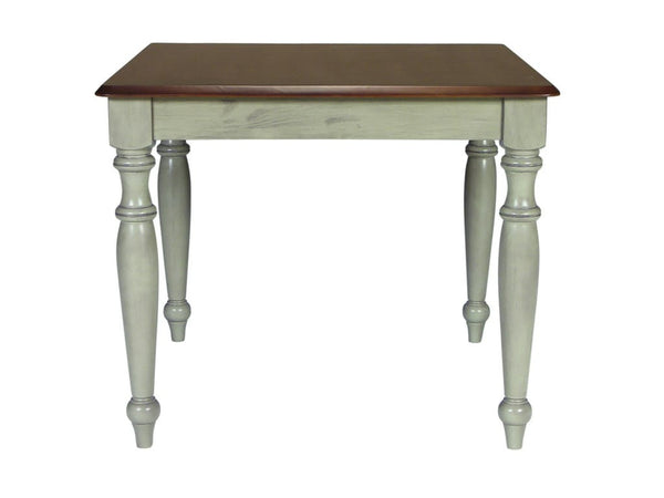 "Bridgeport Farmhouse Table 36"" x 36"" (Finish Options) - UnfinishedFurnitureExpo"