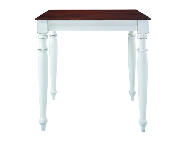 "Bridgeport Square Farmhouse High Table 36"" x 36"" (Finish Options)"