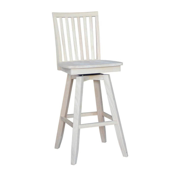 "Mission 30"" Hardwood Bar Stool"