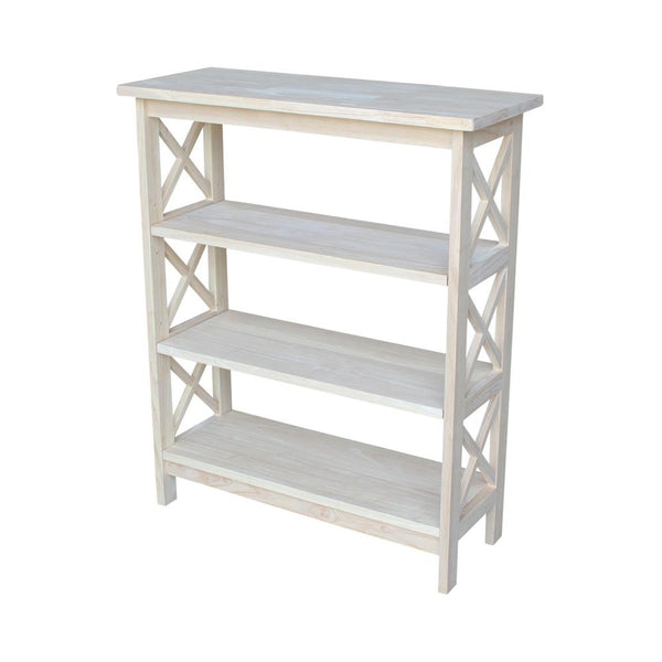 "X-Sided Hardwood Bookcase - 30"" x 36"""