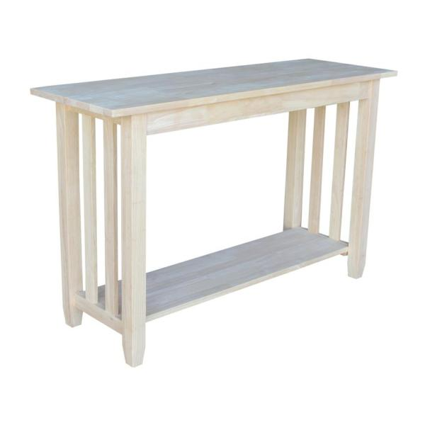 Mission Hardwood Sofa Table - 48""