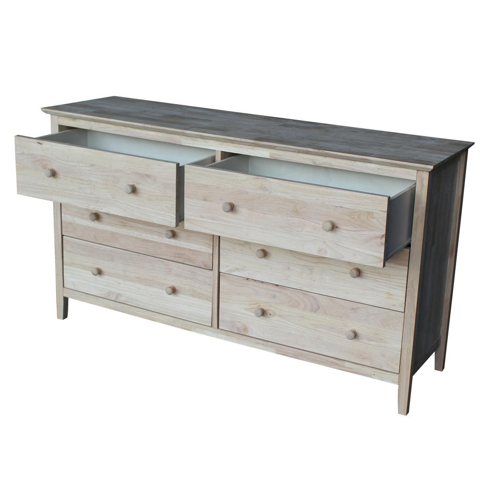 hardwood reclaimed dresser george furniture wood mirror with products co drawer sustain