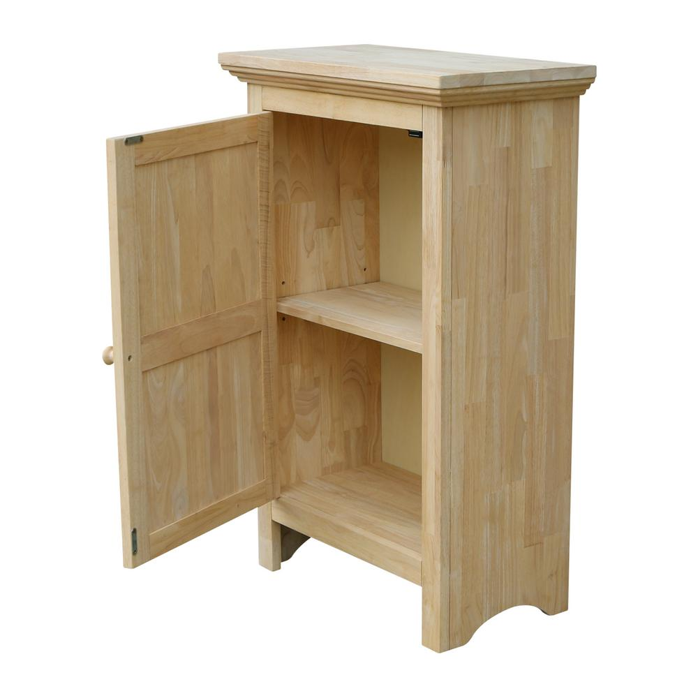 Solid Hardwood Single Door Jelly Cabinet Free Shipping