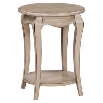 "Ambeirle Round Side Table - 21"" - UnfinishedFurnitureExpo"