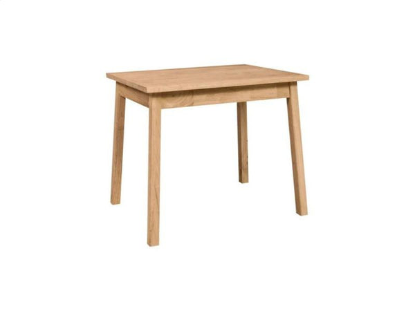 Solid Hardwood Child's Table with Shaker Legs (Table Only) - UnfinishedFurnitureExpo