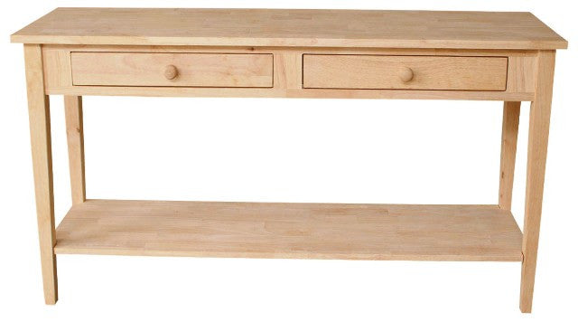 Spencer Sofa Table With Drawers 60 Wide Free Shipping Ot 8s2