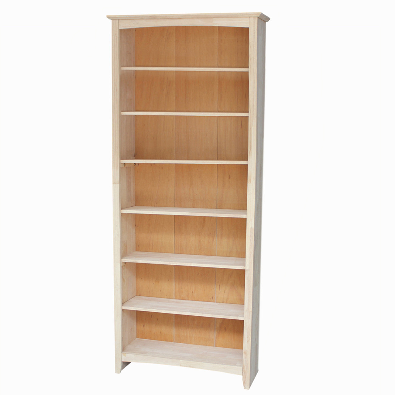 Shaker Hardwood Bookcase 32 Quot W X 84 Quot T Free Shipping