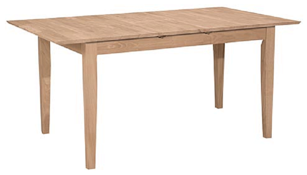 "Hardwood Shaker Butterfly Leaf Counter Height Table - 48"" (Choose Height & Finish)"