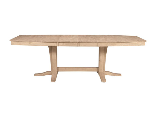 Milano Hardwood Table and Base - 96""