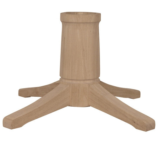 "Contemporary Dining Pedestal - 10"" Diameter - UnfinishedFurnitureExpo"