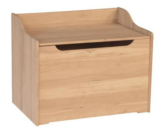 "Solid Hardwood Toy Box - 37"" Wide"