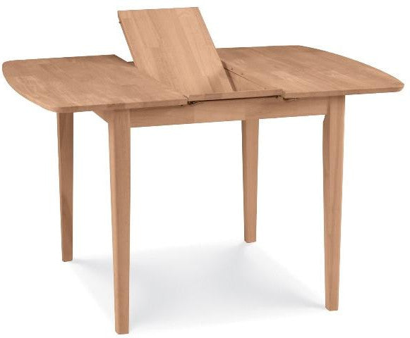 Unfinished Furniture Expo Solid Hardwood Butterfly Leaf Extension Table (3 Optional Heights)