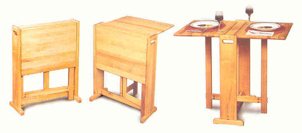 Catskill Craftsmen Portable Table - UnfinishedFurnitureExpo