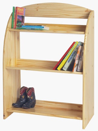Solid Pine Children's Bookcase - UnfinishedFurnitureExpo