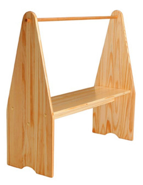 Unfinished Furniture Expo Solid Pine Play Stand
