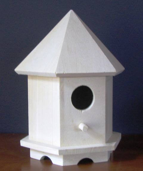 Pentagon Birdhouse - UnfinishedFurnitureExpo