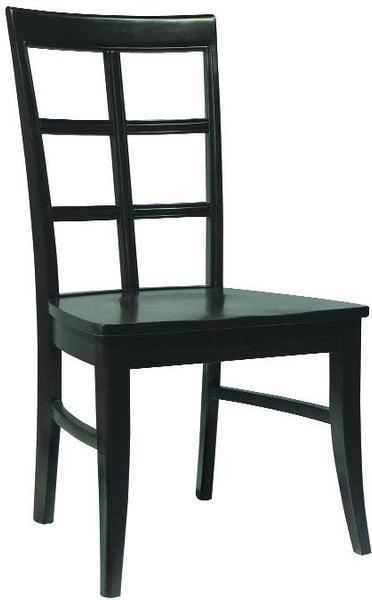 Bordeaux Unfinished Hardwood Dining Chair - 2 Pack - UnfinishedFurnitureExpo