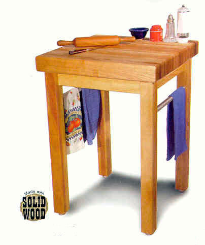 Catskill Craftsmen Country Butcher Block - UnfinishedFurnitureExpo