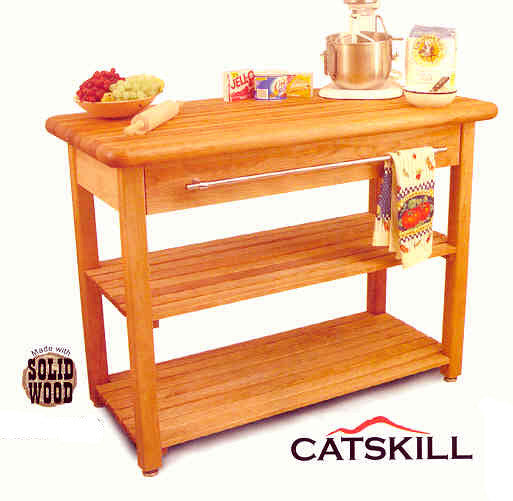 Catskill Craftsmen Contemporary French Country Harvest Table - UnfinishedFurnitureExpo