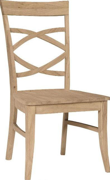 Milano Hardwood Dining Chair - 2 Pack - UnfinishedFurnitureExpo