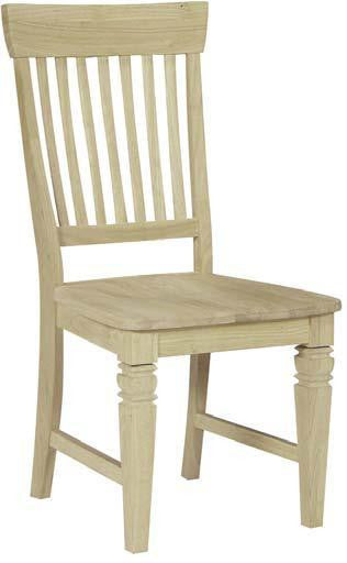 Seattle Unfinished Hardwood Dining Chair (2-Pack) - UnfinishedFurnitureExpo