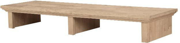 "Hardwood Media Bridge - 46"" - UnfinishedFurnitureExpo"