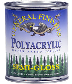 WATER BASE POLYURETHANE TOPCOATS