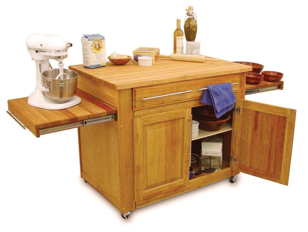 """The Empire Island"" Catskill Craftsmen Kitchen Island - UnfinishedFurnitureExpo"
