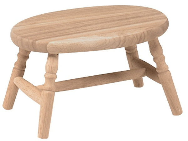 Hardwood Cricket Stool - UnfinishedFurnitureExpo