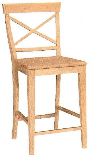 X-Back Hardwood Counterstool