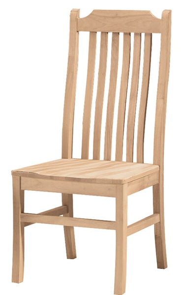 Tall Mission Hardwood Dining Chair