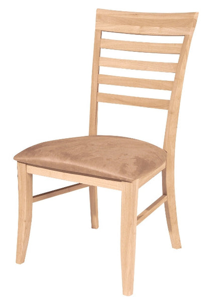 Roma Hardwood Dining Chair - 2 Pack - UnfinishedFurnitureExpo