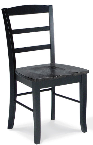 Madrid Dining Chair - 2 Pack (Black Finish)