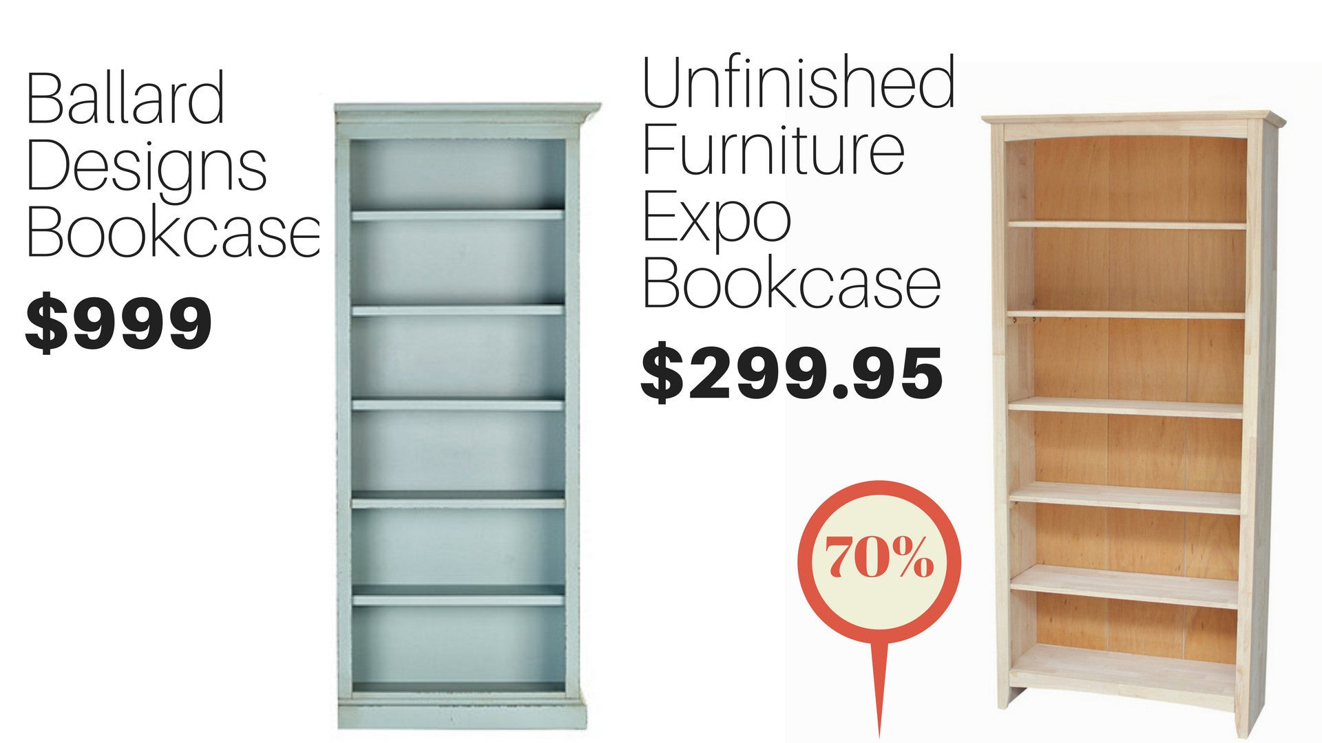 Luxury Unfinished Unassembled Furniture