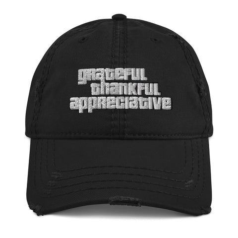 GTA: Greater Than Ever - Distressed Dad Hat