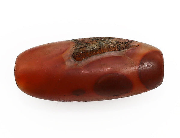 Antique Carnelian Bead Bottom (I)
