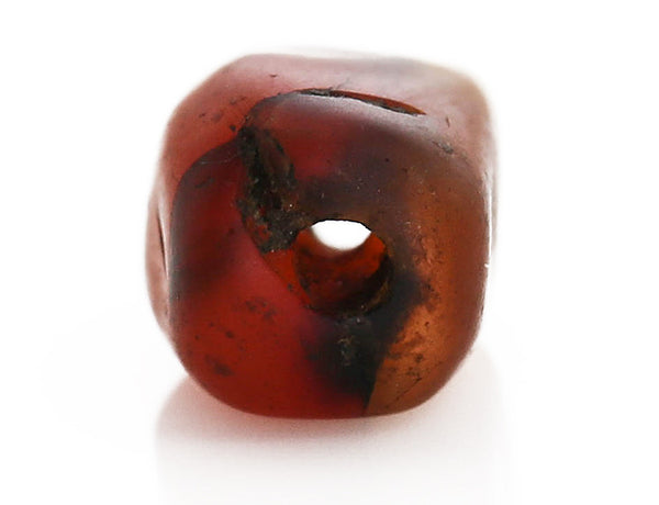 Antique Carnelian Bead Hole (O)