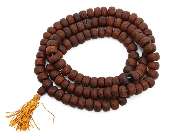 Bodhi Seed Buddhist Mala Beads Top View