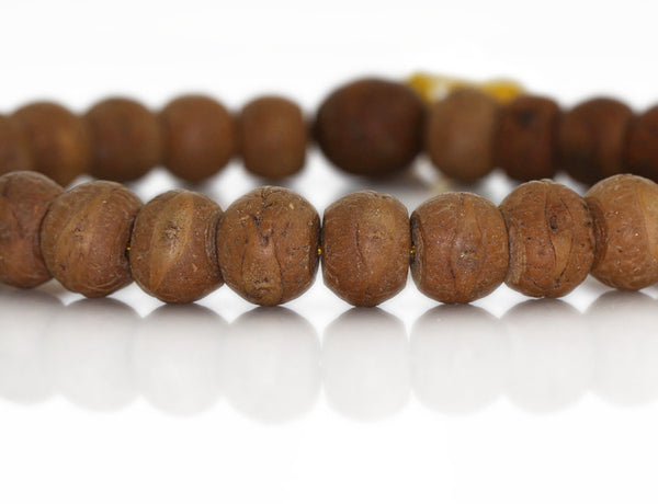 Bodhi Seed Wrist Mala Close Up
