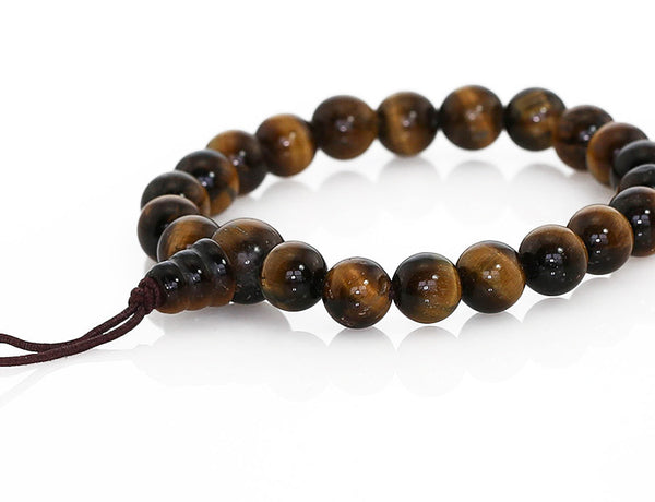 Buddhist Mala Bracelet with Tigereye
