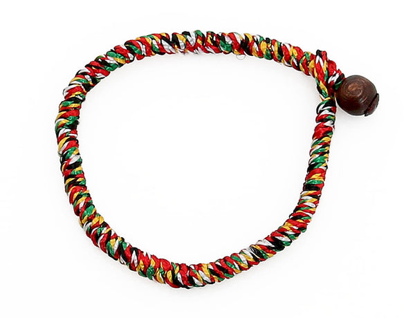 Buddhist Monks Bracelet Top View