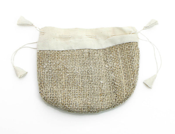 Mala Bag Handmade from Natural Himalayan Hemp